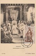 Carte Maximum - Schnetz - Charlemagne Et Alcuin - Autres