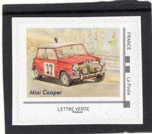 France 2019  -  Mini Cooper S  -  Rallye Monte-Carlo   -   1v  Timbre Neuf/Mint/MNH - Cars