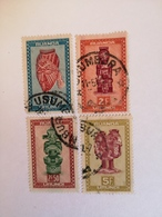 CONGO RUANDA URUNDI 161, 164, 165 Et 167.Obt  USUMBURA - Ruanda-Urundi