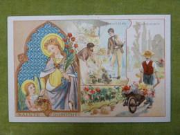 Chromo Série Saint Patron - Sainte Dorothée - Jardiniers, Fleuristes - Ibled