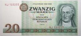 Allemagne De L'Est - 20 Mark - 1975 - PICK 29a - SPL - [ 6] 1949-1990 : GDR - German Dem. Rep.