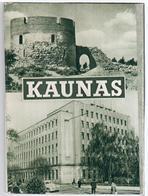 Lithuania Lietuva USSR 1965 Set Of 11 Post Cards Of Kaunas City, 7x10 Cm - Lituanie