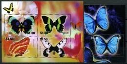NIUE 2004 Butterflies Insects Animals Fauna MNH - Butterflies