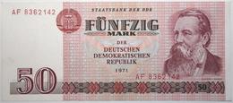 Allemagne De L'Est - 50 Mark - 1971 - PICK 30a - SUP+ - [ 6] 1949-1990 : GDR - German Dem. Rep.