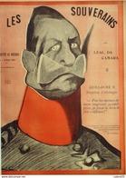 L'ASSIETTE AU BEURRE-1901- 19-LES SOUVERAINS-LEAL DA CAMARA - 1900 - 1949