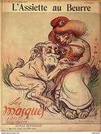 L'ASSIETTE AU BEURRE-1902- 50-LES MASQUES-LOUIS MORIN - 1900 - 1949
