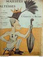 L'ASSIETTE AU BEURRE-1903-130-MAJESTES & ALTESSES-CAMARA - 1900 - 1949