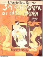 L'ASSIETTE AU BEURRE-1904-181-MONSIEUR CHEZ MAXIM-L'UNION FAIT LA FORCE-D'OSTOYA - 1900 - 1949