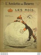 L'ASSIETTE AU BEURRE-1905-249-LES ROIS LEOPOLD GALETTE Des ROIS-GUILLAUME - 1900 - 1949