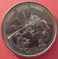 Canada 25 Cents 2000 - Canada