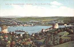 Turkey Constantinopel  Istanboel Istanbul Salut De Constantinople Bosphore Vue De Rouméli Hissar  M 3274 - Turquie