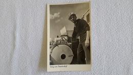 Postkarte 2 WK Fertig Zum Torpedoschuß Marine Matrose Militär - 1939-45