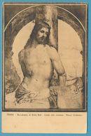 SIENA - Accademia Di Belle Arti - Cristo Alla Calonna - Bazzi ( Sodomo) - Circulé 1913 - Pintura & Cuadros