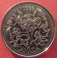 Canada 25 Cents 1999 - Canada