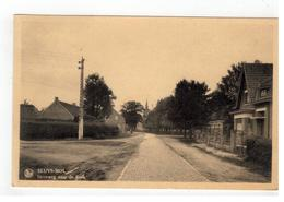 Sluis-Mol  SLUYS-MOL    Steenweg Naar De Kerk 1938 - Mol