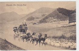 Die Oberalp-Post Bei Disentis     (P-244-91020) - Postal Services