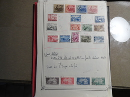 Albanie - Petite Collection Oblitérée Du N° 439 Au 645 Plus 2 Pages En Vrac - B/TB - - Albanien