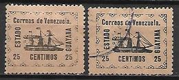 VENEZUELA.   1903.   Y&T N° 89 * &  Oblitéré.     Bateau  /  Voilier.   Cote 100,00 Euros - Venezuela