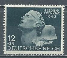 Allemagne Empire YT N°736 Journée Des Héros Neuf ** - Unused Stamps