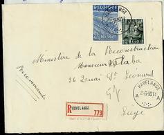 Doc. De HAVELANGE - A A - Du 23/06/50 En Rec. - Poststempel