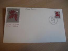 OTTAWA 1978 Yvert 658 Chene Rouvre Oak Tree FDC Cancel Cover CANADA - Premiers Jours (FDC)