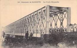 DJIBOUTI - Le Pont D'AOUACHE - CPA - Afrique Noire / Black Africa ( Bridge Brücke Brug Puente Ponte ) - Djibouti
