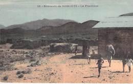 DJIBOUTI - La Frontière - CPA Colorisée - Afrique Noire / Black Africa - Djibouti