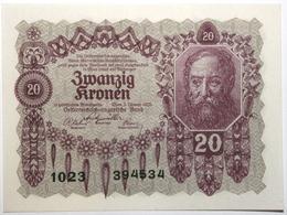 Autriche - 20 Kronen - 1922 - PICK 76 - NEUF - Austria