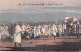 DJIBOUTI - Danse Des Somalis - CPA Colorisée - Afrique Noire / Black Africa - Djibouti