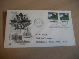OTTAWA 1971 Yvert 453 Emily Carr Painter Peintre Painting FDC Cancel Cover CANADA - 1971-1980