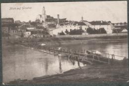 Lituanie Litauen Blick Auf  Grodno Brücke Deutsche Soldaten 1916 - Lituanie