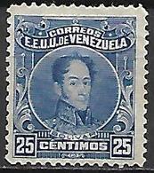 VENEZUELA.   1915    Y&T N° 138 (*).    Cote 22,00 Euros - Venezuela