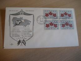 OTTAWA 1964 Yvert 342 Unity United Uni FDC Cancel Cover CANADA - 1961-1970