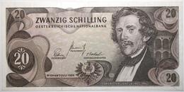 Autriche - 20 Schilling - 1967 - PICK 142a.1 - SPL - Austria