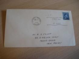 OTTAWA 1949 Yvert 240 Royal Family Royalty FDC Cancel Cover CANADA - Omslagen Van De Eerste Dagen (FDC)