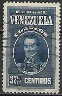 VENEZUELA.   1938 .    Y&T N° 194 Oblitéré - Venezuela