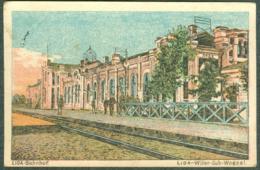 Lituanie Lida Wilna Bahnhof 1916 - Lituanie