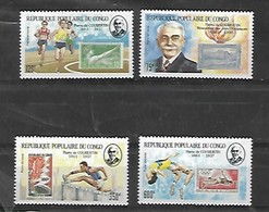 Congo Pierre De Coubertin - Kongo - Brazzaville