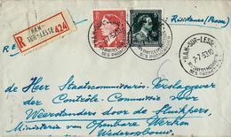 Doc. De HAN - SUR - LESSE  070/07/53 En Rec. - Poststempel