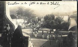 Procession De La Fête Dieu Carte Photo - Christianity