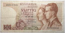 Belgique - 50 Francs - 1964 - PICK 139a.1 - TTB - [ 2] 1831-...: Belg. Königreich