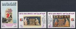 MCH-BK1-209 MINT PF/MNH ¤ UNITED ARAB EMIRATES 1986 3w In Serie ¤ CHESS OLYMPIAD DUBAI '86 SCACCHI ECHECS CHESS SCHAKEN - Chess