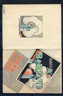 ANCIENNE PUBLICITE DEPLIANT REF280520 CHARBONS A.BARRAUD ET FILS...Logo D'après Franck CREACH - Publicidad