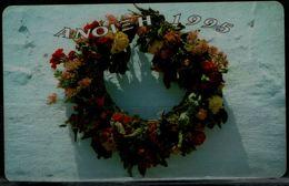 GREECE 1995 PHONECARD WREATH OF FLOWERS USED VF!! - Greece