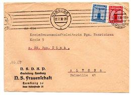 NSDAP Gauleitung Hamburg NS Frauenschaft Brief 1938 - Deutschland