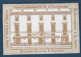 Calendrier Pour Les Années 1843 , 1844 , 1845 , 1846 , 1847 - Toulouse Hôtel Capoul - Calendars