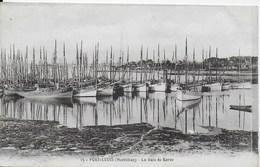 Port Louis - La Baie De Kerzo - ( Barques) CPA En Rapport Avec Le Président De La République Sadi Carnot - Sainte Anne D'Auray