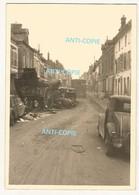 WW2 PHOTO ORIGINALE ALLEMANDE Chaos Dans Grande Rue à VOULX P.  Montereau-Fault-Yonne Provins 77 SEINE ET MARNE 1940 - 1939-45