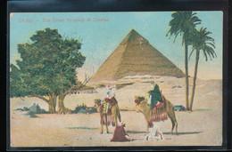 Egypte --  Cairo -- The Great Pyramid Of Chefren - Alexandria