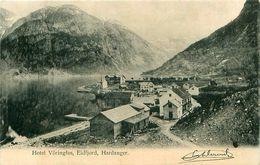 Cpa EIDFJORD - Hotel Vöringfos, Hardanger  - ( Riksvegen ) - Norvège